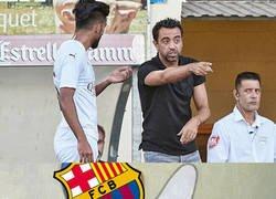 Enlace a Xavi debuta como entrenador en el Al Sadd