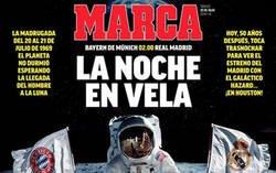 Enlace a El doble rasero increíble del diario MARCA antes y después de un partido del Real Madrid