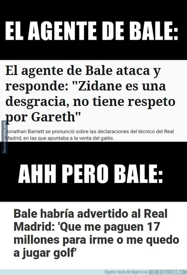 1081723 - Zidane 'irrespetando' a Bale, Malo. Bale irrespetando al club, no me acuerdo de eso