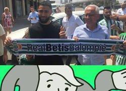 Enlace a Fekir al Betis, el fichaje más random de lo que va de verano