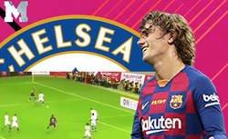 Enlace a No hay piedad: todos los colchoneros se están riendo de Griezmann por este fallo con el Barça