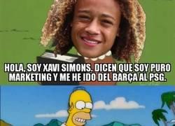 Enlace a Xavi Simons sigue los pasos de Neymar