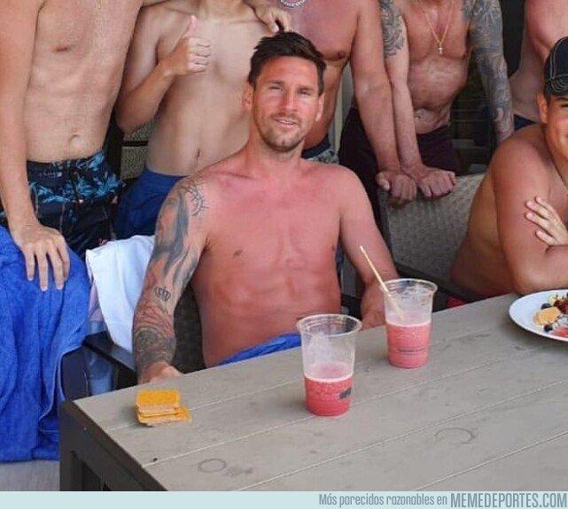 1081859 - ¡Que se ha quemado Messi! La única manera de que en Argentina no lo llamen pecho frío