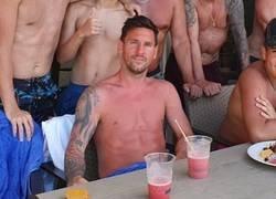 Enlace a ¡Que se ha quemado Messi! La única manera de que en Argentina no lo llamen pecho frío