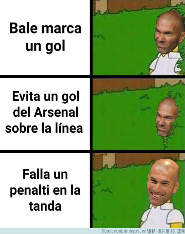 1081866 - El partido de Bale no dejó en muy buen lugar a Zidane
