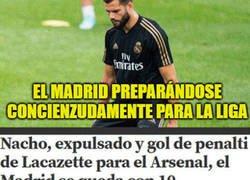Enlace a El Madrid preparándose concienzudamente para la liga
