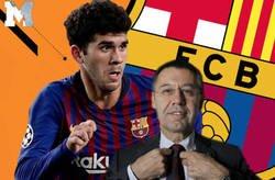 Enlace a Carles Aleñà le ha pegado un hachazo monumental a Bartomeu por darle el dorsal 21 a De Jong