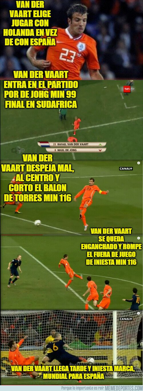 1081988 - El verdadero artífice del mundial ganado por España fue Van Der Vaart