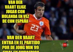 Enlace a El verdadero artífice del mundial ganado por España fue Van Der Vaart