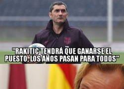 Enlace a Valverde le ha roto el corazón a Rakitic