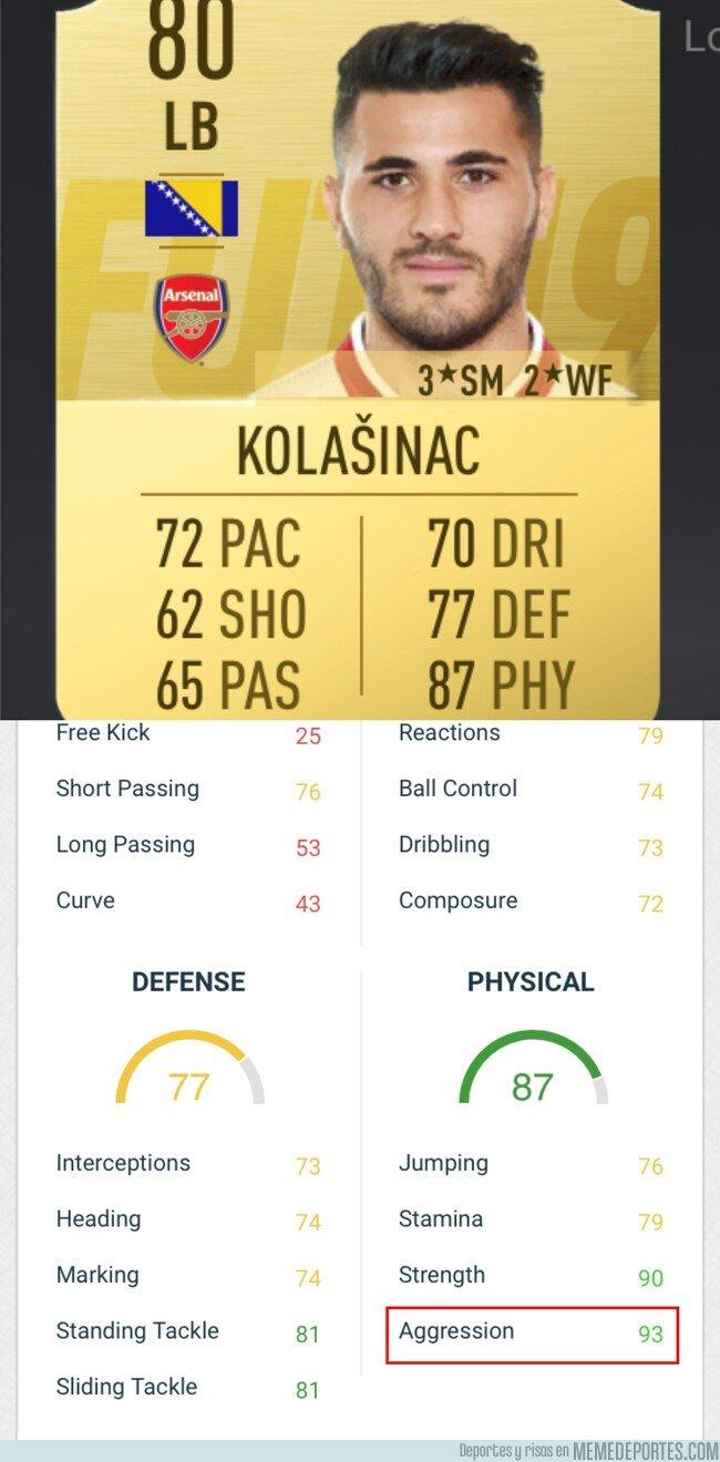 1082043 - Las stats de Kolasinac son muy reales