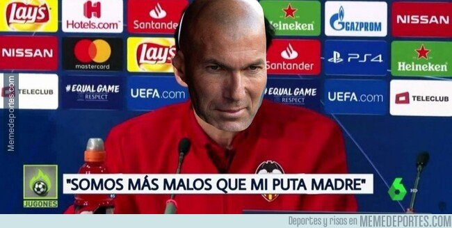 1082099 - Reacciones de Zidane tras el Derbi