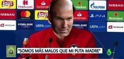 Enlace a Reacciones de Zidane tras el Derbi