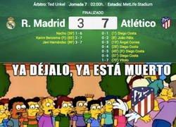 Enlace a Baño del Atleti al Real Madrid
