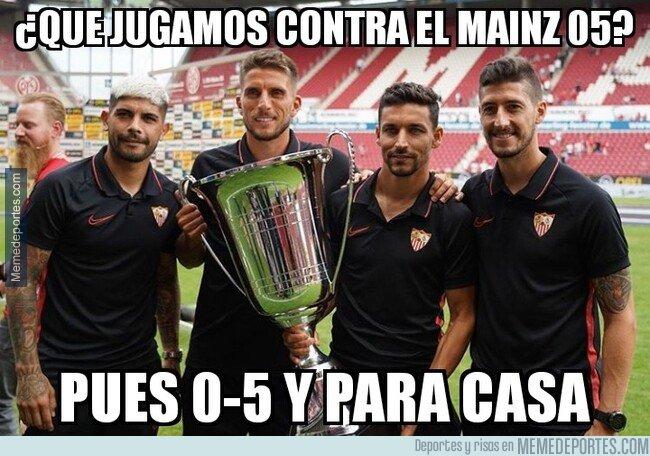 1082242 - El Sevilla endosa un 0-5 al Mainz 05