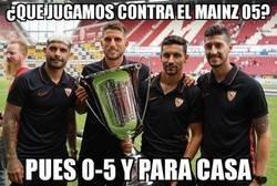 Enlace a El Sevilla endosa un 0-5 al Mainz 05