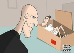 Enlace a No hay manera de que Zidane se libre de Bale, por @footytoonz
