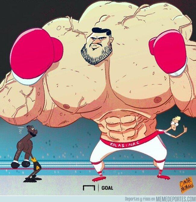 1082314 - No hay mejor protector que Sead Kolasinac, por @goalglobal