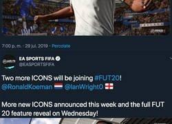 Enlace a Las 4 leyendas confirmadas que tendrán su carta Icono en el FUT de FIFA 20