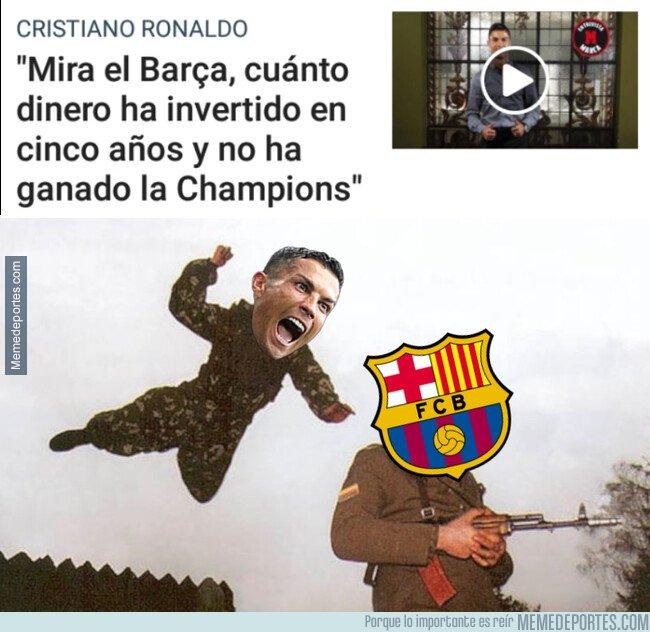 1082381 - El palp de Cristiano al Barça sin venir a cuento