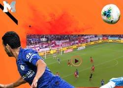 Enlace a Vaya locura el gol de Pedro, serio candidato al premio Puskas