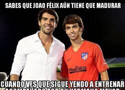 Enlace a Joao Félix y Kaká podrían pasar por hermanos perfectamente