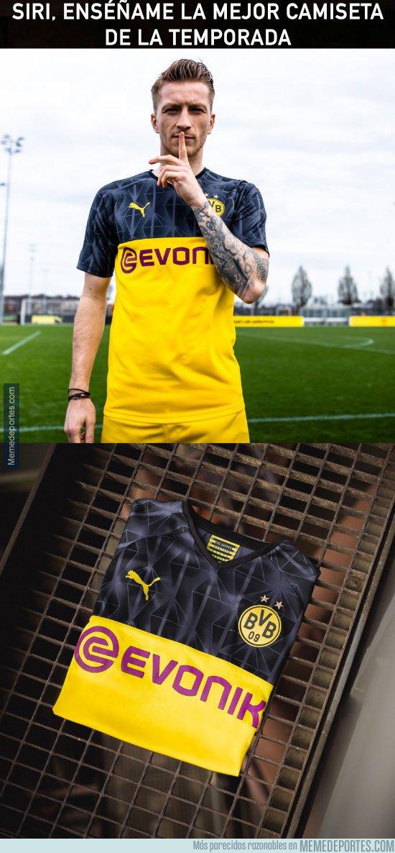 1082460 - El Borussia presenta nueva camiseta y es brutal