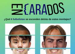 Enlace a Encarados ¿Quiénes son estos 6 futbolistas?