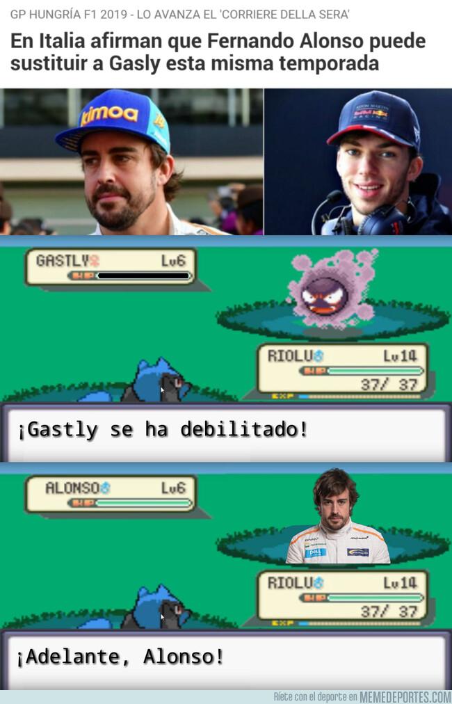 1082591 - Lo que yo me imagino cuando dicen que Alonso sustituirá a Gasly