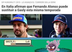 Enlace a Lo que yo me imagino cuando dicen que Alonso sustituirá a Gasly