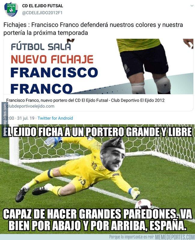 1082594 - Francisco Franco, nuevo portero de El Ejido Futsal