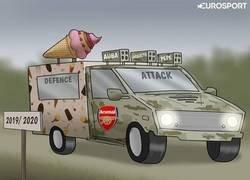 Enlace a Al Arsenal le está quedando un equipo algo descompensado, por @zezocartoons