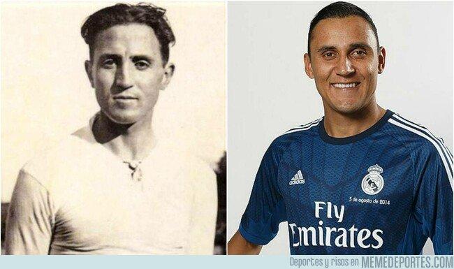 1082691 - El curioso parecido entre Keylor Navas y Santiago Bernabéu