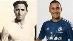 Enlace a El curioso parecido entre Keylor Navas y Santiago Bernabéu