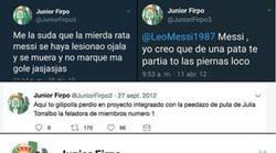 Enlace a Los mejores tuits del adolescente Junior Firpo, un digno competidor de Ceballos