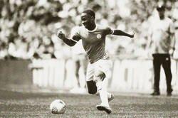 Enlace a Camiseta vintage del City + Filtro sepia = Una foto del futbol de los 60