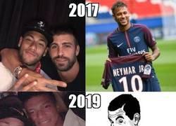 Enlace a ¿Repetirá Neymar el 'se queda' pero a la inversa?