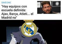 Enlace a ¡Qué novedad! Un dardo más de Simeone al Madrid