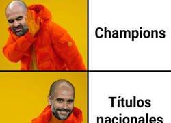Enlace a Guardiola vuelve a conquistar una de sus especialidades