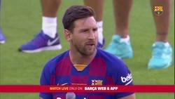 Enlace a El discurso de Messi anoche en el Gamper