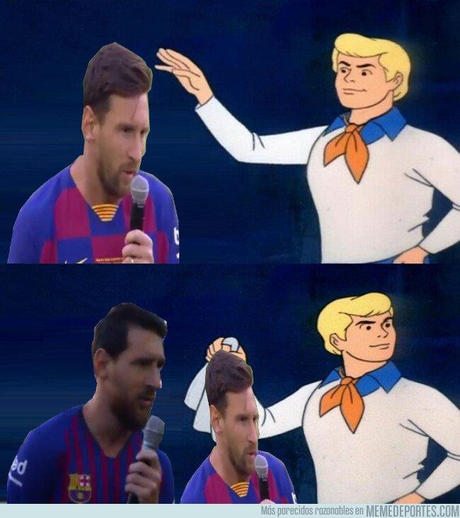 1082800 - El discurso de Messi de cara a la próxima temporada resultó ser muy parecido al del año pasado...