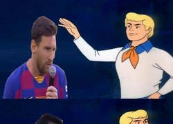 Enlace a El discurso de Messi de cara a la próxima temporada resultó ser muy parecido al del año pasado...