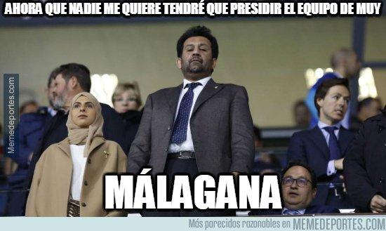 1082833 - Al Thani cada día está más solo en el Málaga