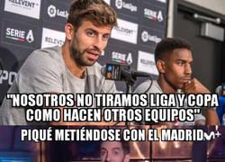 Enlace a Otro palo más de Piqué al Madrid