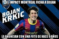 Enlace a No es precisamente un jugador Barça lo que han fichado