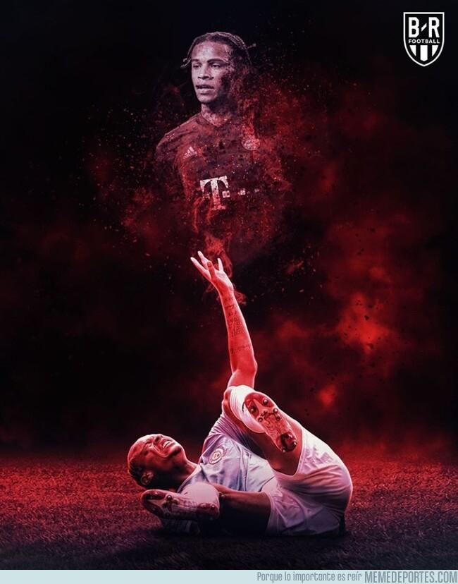 1083053 - La lesión de Leroy Sané le aleja de su sueño bávaro, por @brfootball