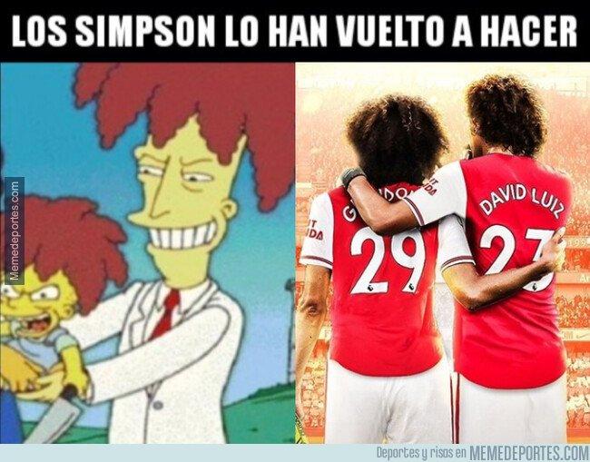 1083057 - Los Simpson predijeron a David Luiz y Guendouzi
