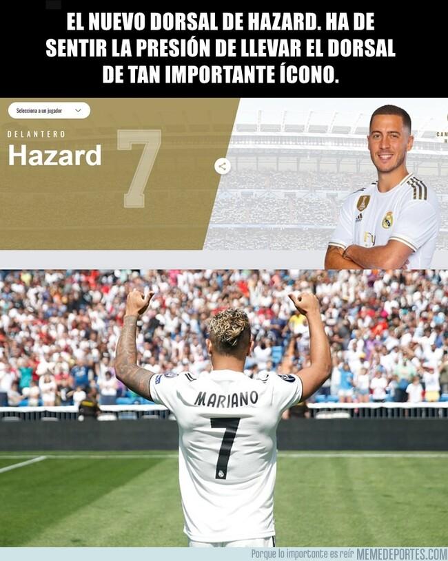 1083096 - Eden Hazard usará el dorsal 7