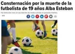 Enlace a Consternación por la muerte de la futbolista de 19 años Alba Esteban