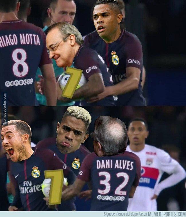 1083134 - El Madrid le quita el '7' a Mariano para dárselo a Hazard